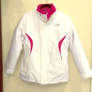 The North Face Girls Ski Jacket with Liner